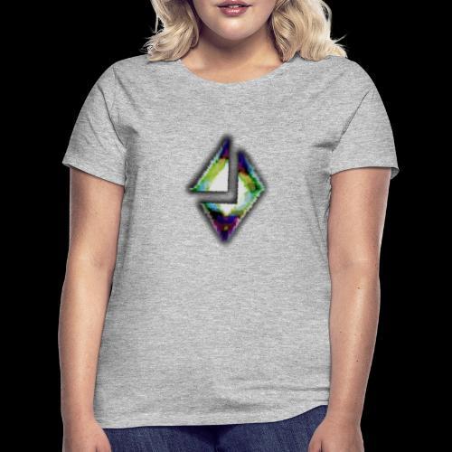 losange crack - T-shirt Femme