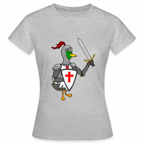 ducking crusade - Vrouwen T-shirt