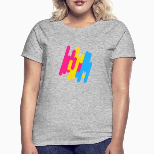 Abstract Panic Design! - Women's T-Shirt