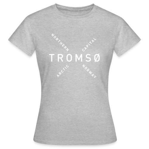 Tromsø - Arctic Capital - T-skjorte for kvinner