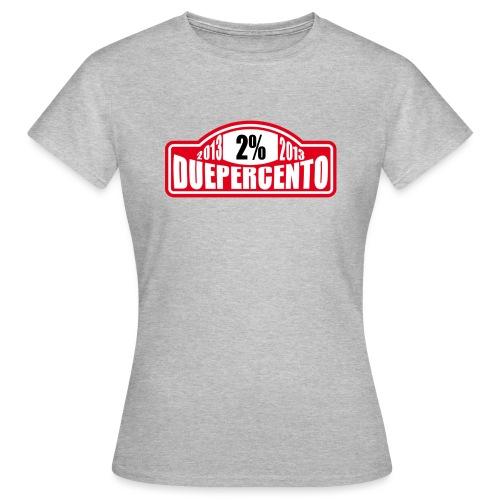DuePerCento Monte - Maglietta da donna
