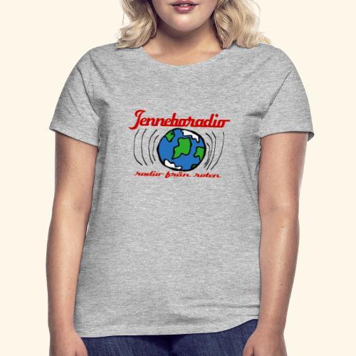 Jenneboradio -radio från roten - T-shirt dam