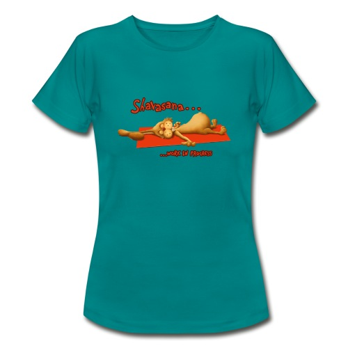 Time for Shavasana - Frauen T-Shirt