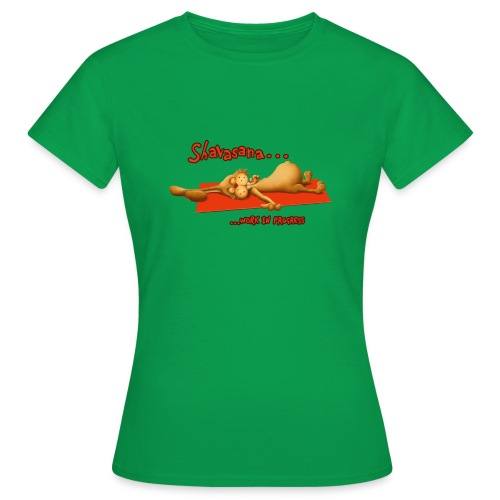 Time for Shavasana - Frauen T-Shirt