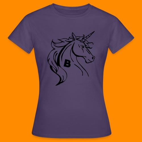 the biodusty unicorn mousepad - Vrouwen T-shirt