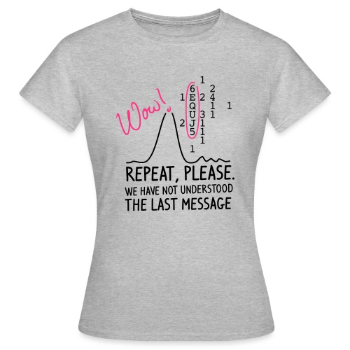 repeat please - Frauen T-Shirt