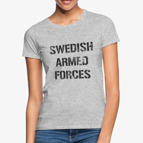 SWEDISH ARMED FORCES Rugged + SWE Flag - T-shirt dam
