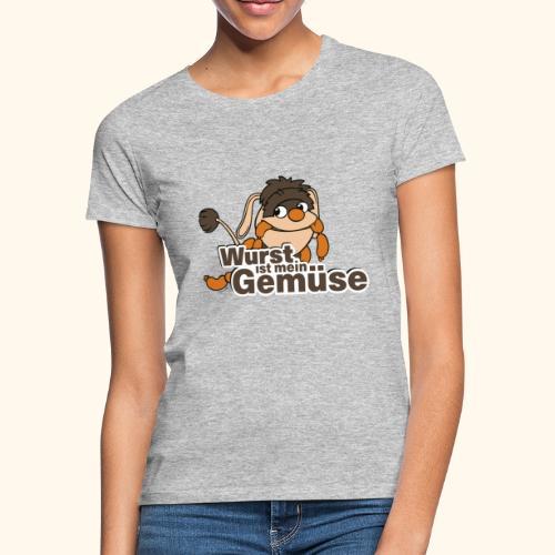 Moppi Wurst ist mein Gemüse - Frauen T-Shirt