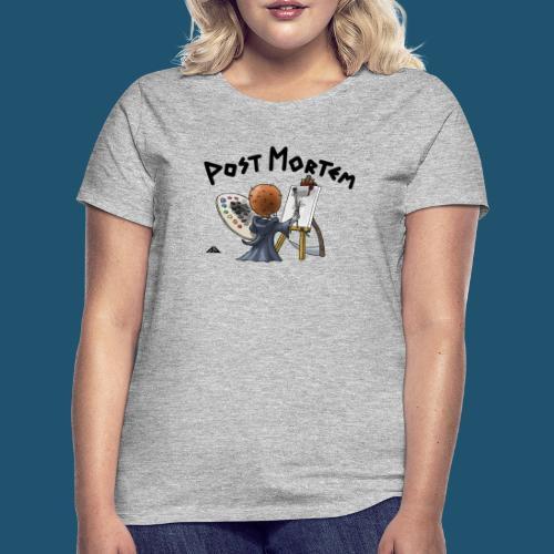 Painting a little friend - T-shirt dam