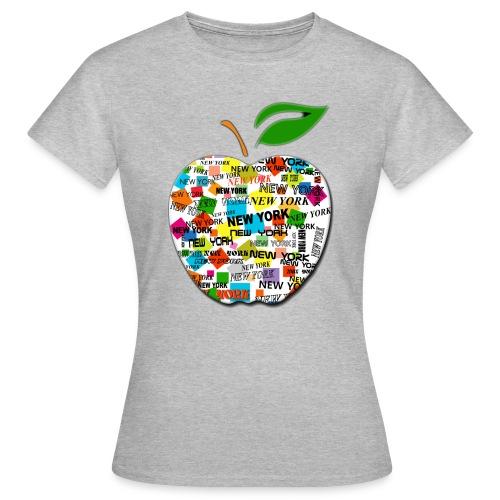 ny apple - Maglietta da donna