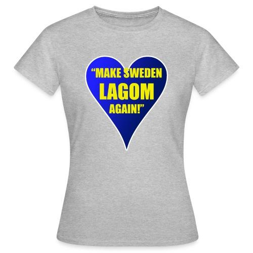 Make Sweden Lagom Again - T-shirt dam