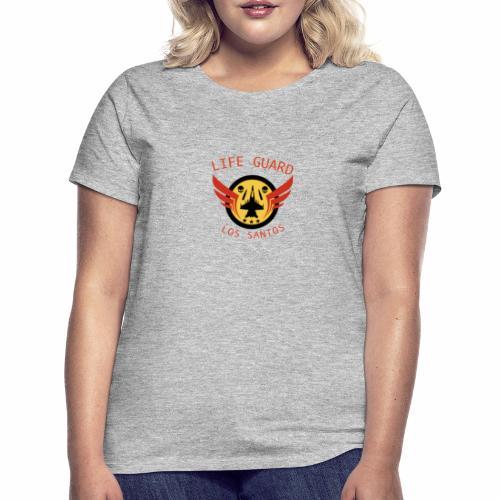 Life Guard Logga - T-shirt dam