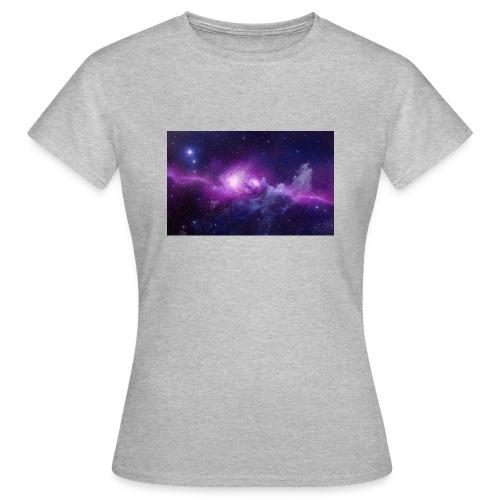 tshirt galaxy - T-shirt Femme
