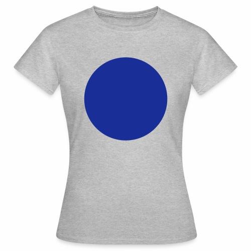 Blue blob - T-shirt Femme