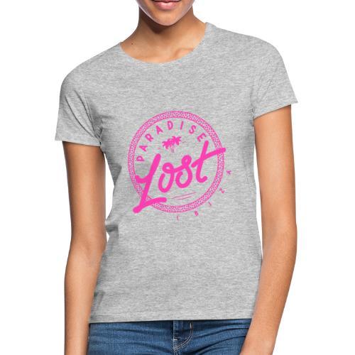 Paradise Lost Ibiza - PINK Logo - Women's T-Shirt