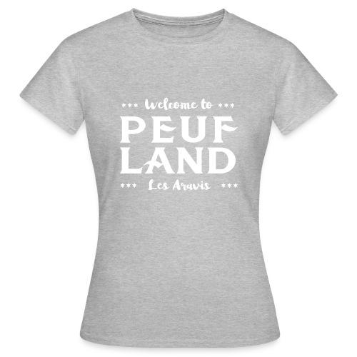 Peuf Land Aravis - White - T-shirt Femme