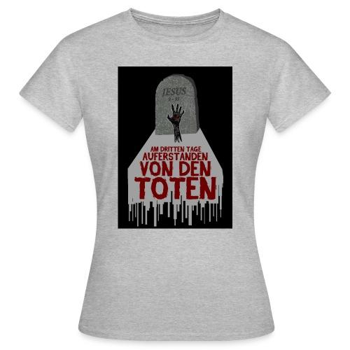 grab hand schwarz jpg - Frauen T-Shirt