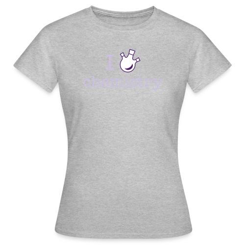 yellowibis iheartchem vec - Women's T-Shirt