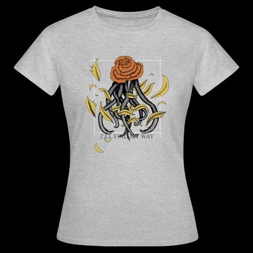 Rose octopus - T-shirt Femme