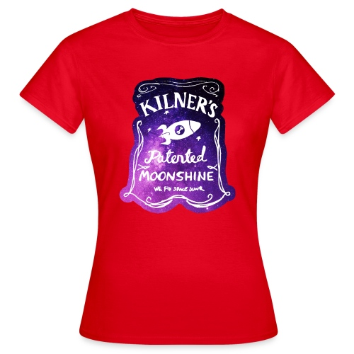 Kilner's Patented Moonshine (Stars) - Women's T-Shirt