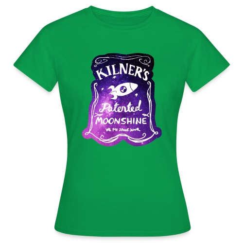 Kilner's Patented Moonshine (Stars) - Women's T-Shirt