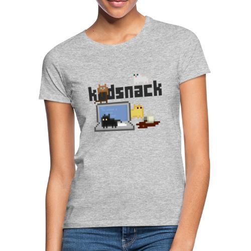 Kodsnack katter - ljus - T-shirt dam
