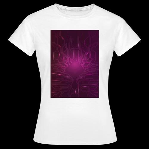 ElecGlow - Dame-T-shirt