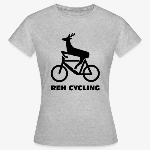 Reh cycling - Frauen T-Shirt