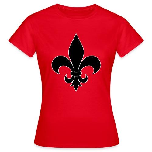 ranskan lilja - Naisten t-paita