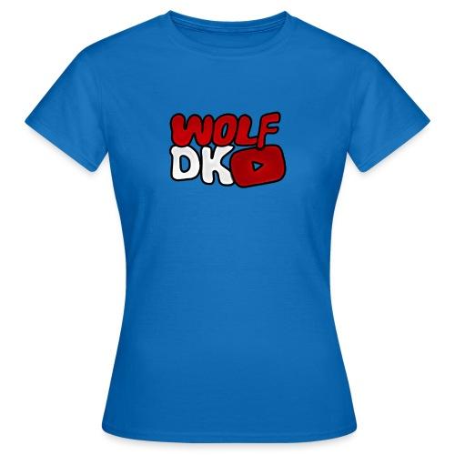Wolf Dk - Dame-T-shirt