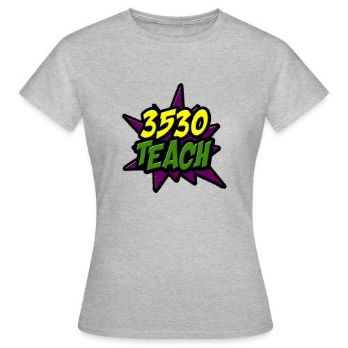 logo 3530teach - T-shirt Femme