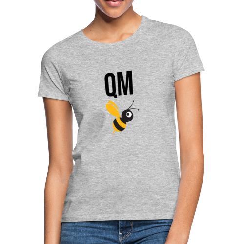 qm biene black - Frauen T-Shirt
