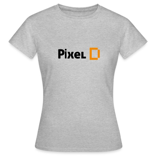 Pixel D Logo Clean - Frauen T-Shirt