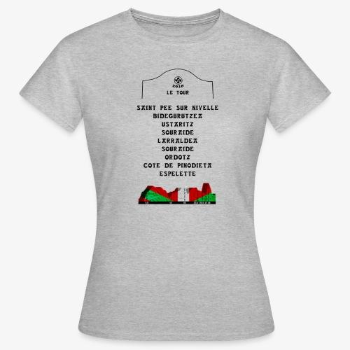 le tour 2018 - T-shirt Femme