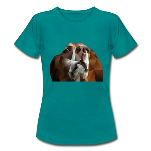 Beagle Polygon - Frauen T-Shirt
