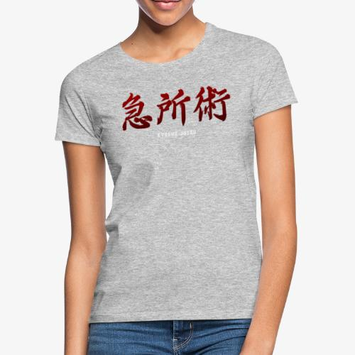 KYUSHO JUTSU version kanji rouge - T-shirt Femme