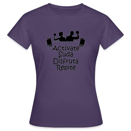 GYM - ACTÍVATE - Camiseta mujer