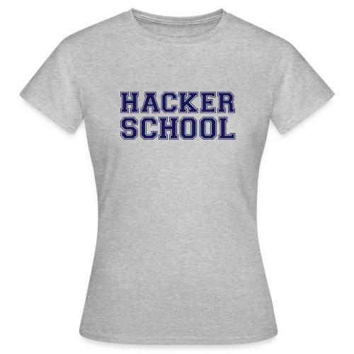 Hacker School ohne Pixel - Frauen T-Shirt