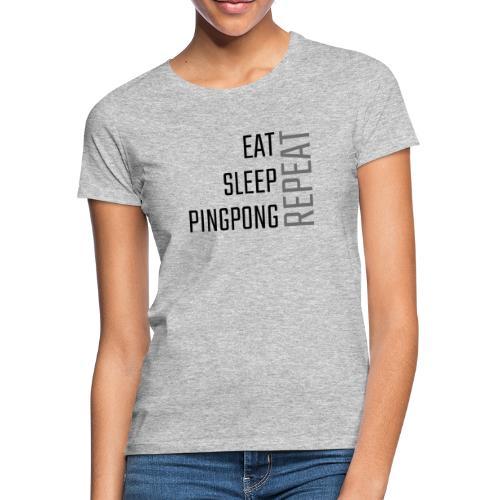 PingPong Repeat - Dame-T-shirt
