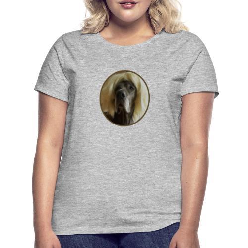 D O G G E mit Perücke - Frauen T-Shirt
