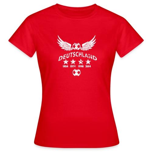 Germany football 2018 - Frauen T-Shirt