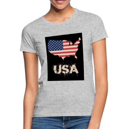 USA FLAG 4th of July With Flag - T-shirt dam