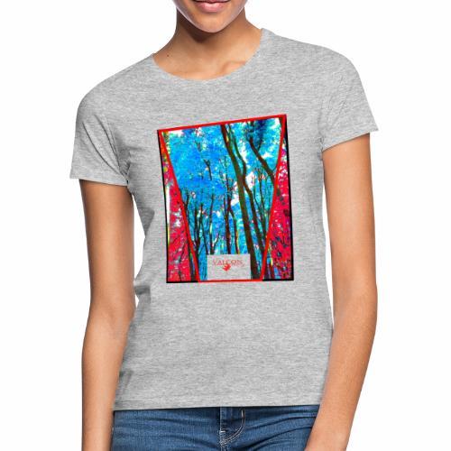 Natur Wald Forest Bäume - Frauen T-Shirt