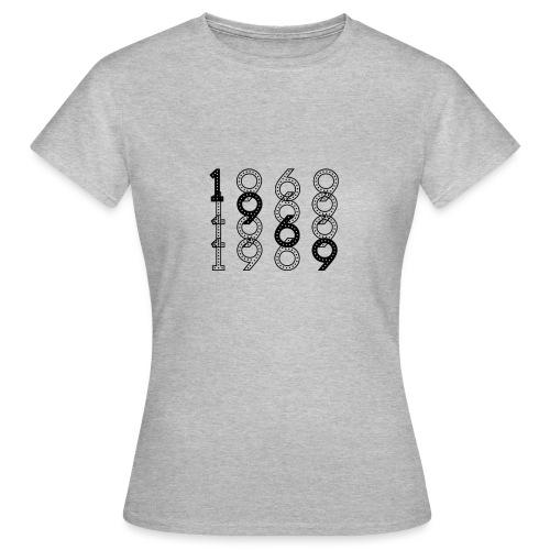 1969 syntymävuosi - Naisten t-paita