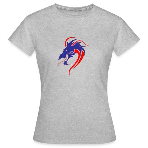 dragon en colère - T-shirt Femme