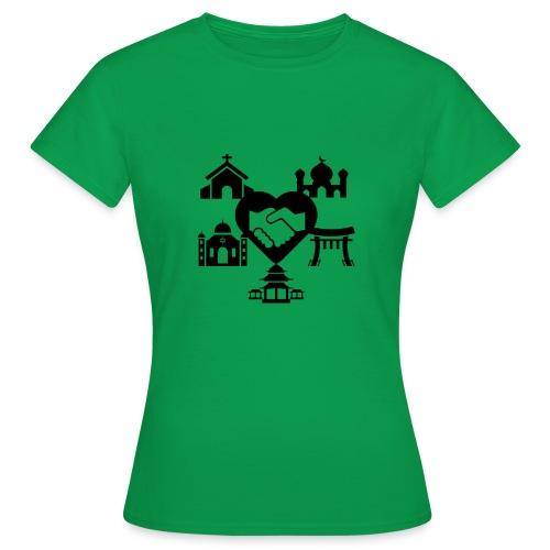 religion peace - T-shirt Femme