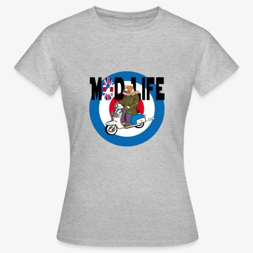 BritishBullDogModLife - Women's T-Shirt