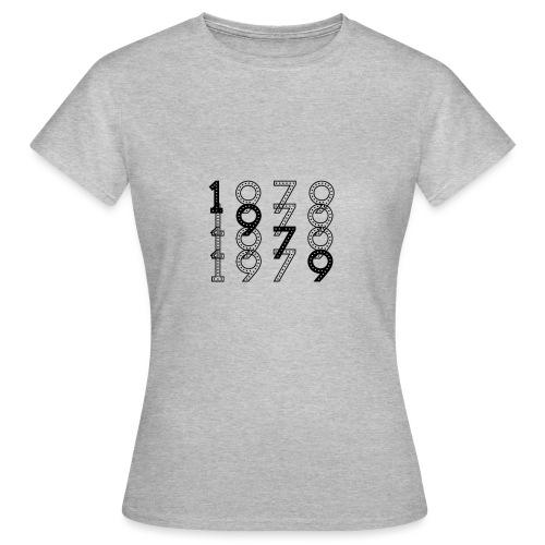 1979 syntymävuosi - Naisten t-paita