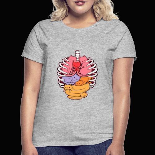 El cuerpo humano por dentro - Camiseta mujer