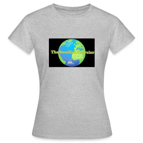 The Swedish Traveler - T-shirt dam